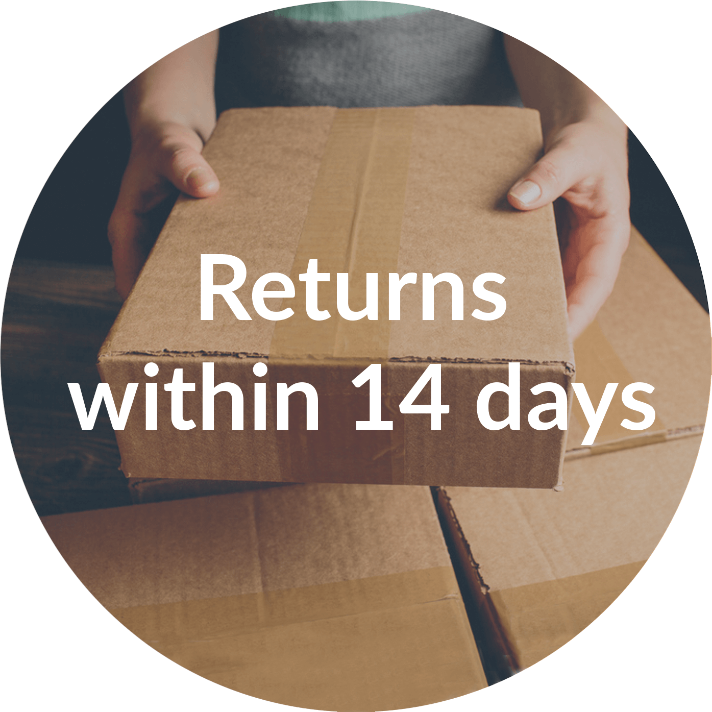 Returns within 14 days